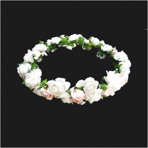 Affordable Inspiration Of Making Paper Flowers For Indian Wreath Nice White Color