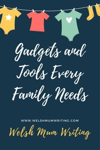 Gadgets that make housework easier and save you time . Perfect for busy parents !