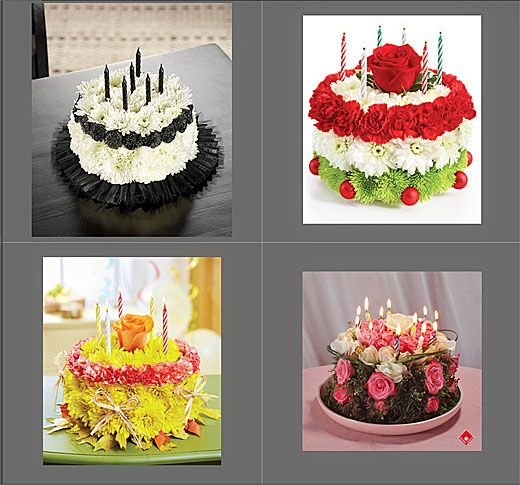 cake icing flowers