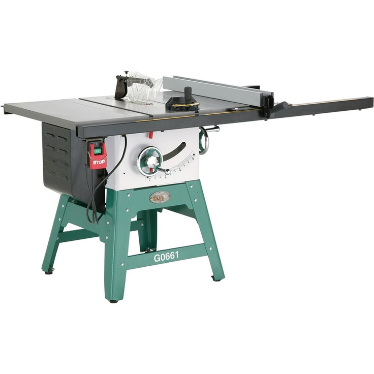 Grizzly g0661 10 2 hp contractor style table saw with riving knife woodworking wishlist Used table saw