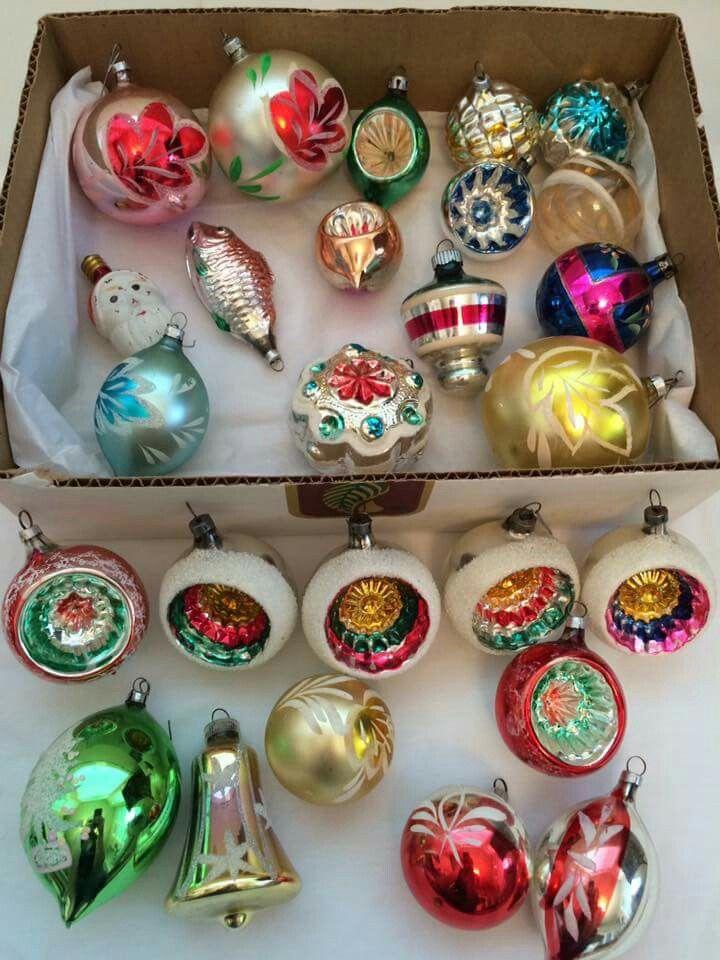 Antique Christmas Vintage Ornaments Baubles Decor Holiday Ideas Victorian Xmas Deco