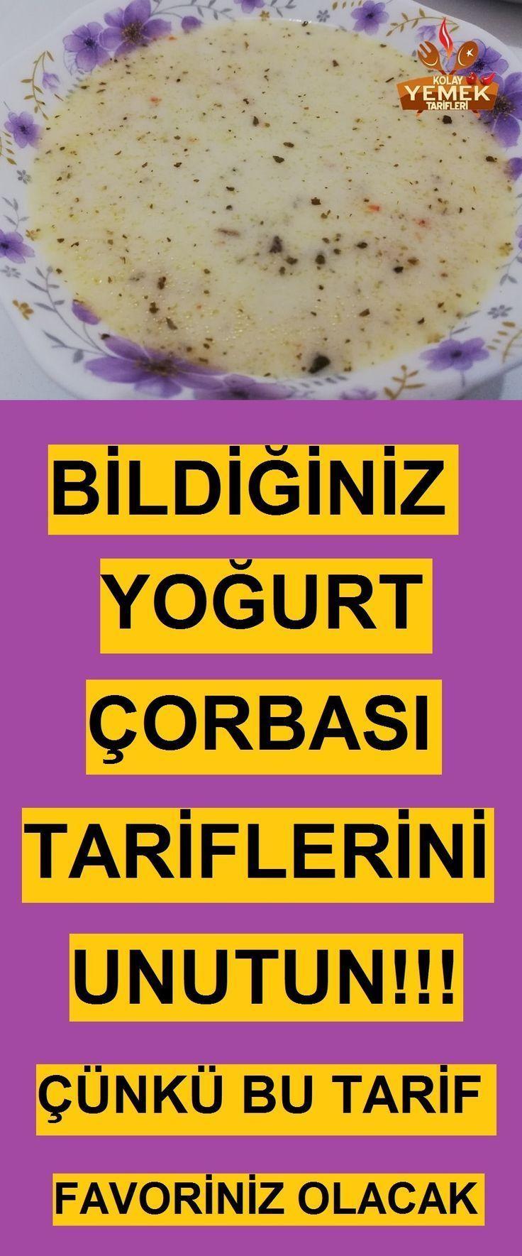 Arpa Sehriyeli Nohutlu Yogurt Corbasi Tarifi Recipes Yoghurt Soup Recipe Food