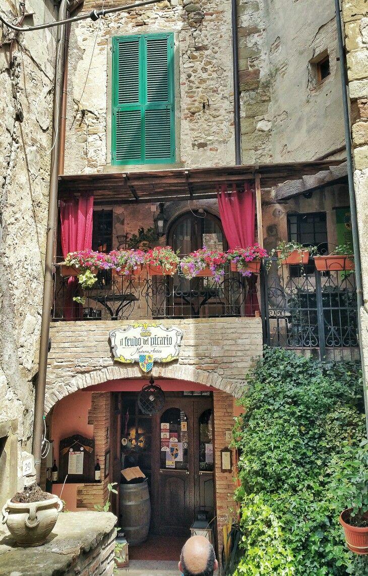 O Burgo Medieval De Anghiari Provincia De Arezzo
