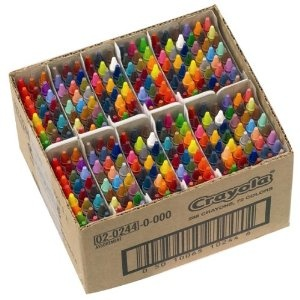 Crayola classpack of 244 crayons. *blissful sigh*