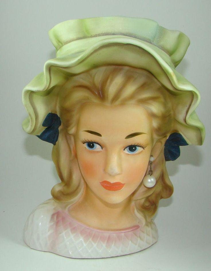 Antique Head Vases Best 2000 Antique Decor Ideas