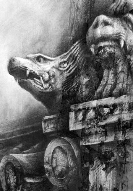 Vigilant And Proud » Ian Murphy Drawings