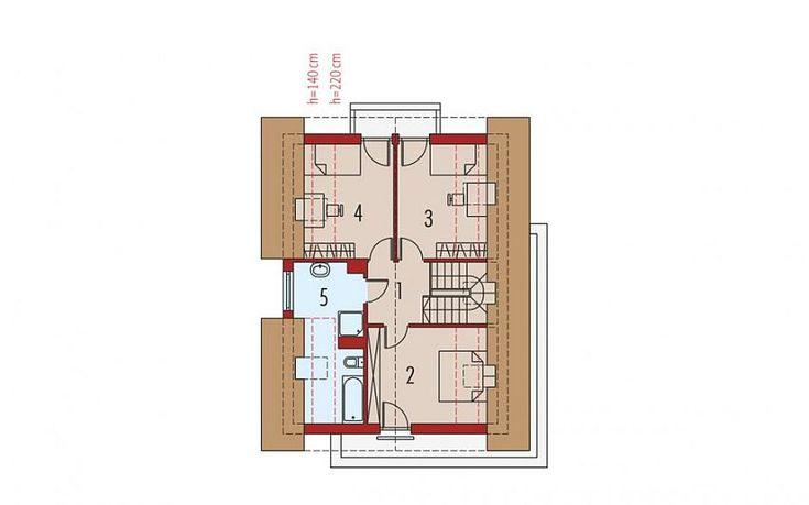 case cu mansarda si balcoane Houses with attic and balconies 5