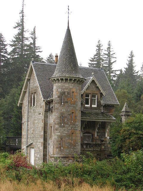 Scotland - Loch Laggan Gate House, about 2 miles away from the incredibly large Ardverikie House.  flickr.com/gregbarnes