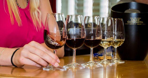 Wine Tasting at Groot Constantia #FeelGroot