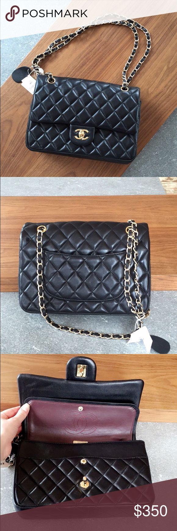 Chanel handbag superb vintage chanel bag vintage leather - 100 Leather Chanel Flap Bag Firm On Nwt