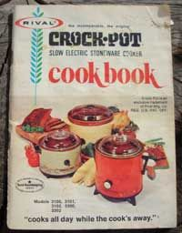 Vintage recipes link to my families best crockpot recipes, no longer published but recipes can be found here.