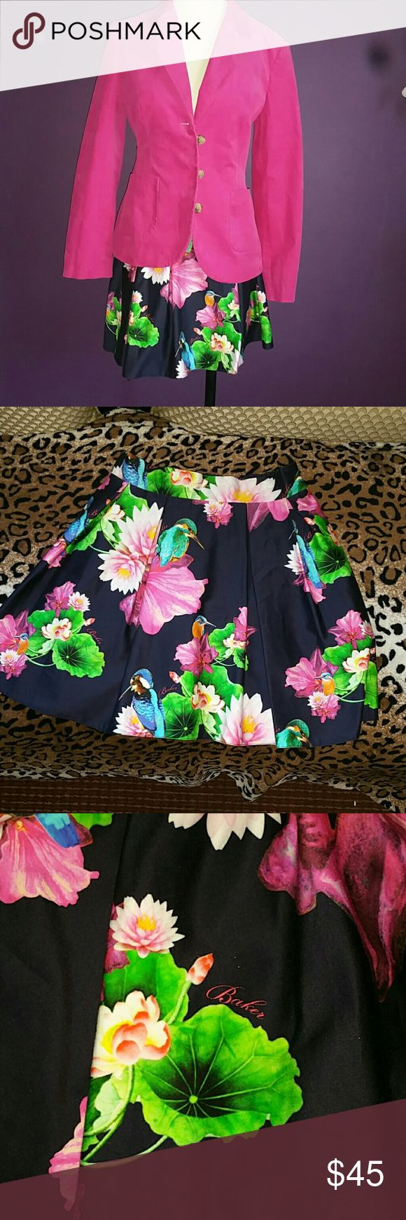 Baker by Ted Baker skirt Gorgeous girls skirt used only a couple times &wased by hand Baker by Ted Baker Skirts Mini