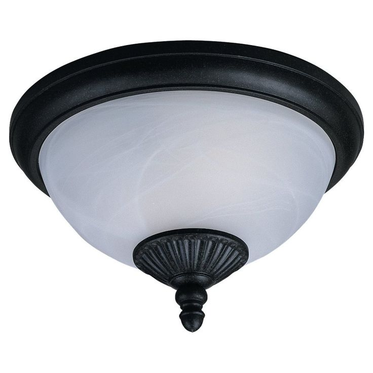 Sea Gull Lighting 88048-185 Yorktowne Traditional Outdoor Flush Mount Ceiling Light SG-88048-185