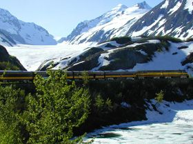 Ride the train from Anchorage to Whittier or basically ANYTHING in Alaska (one of the places I'd love to live!)