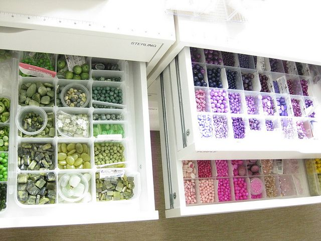 bead organization | Bead organization Great idea but who has this kind of time?