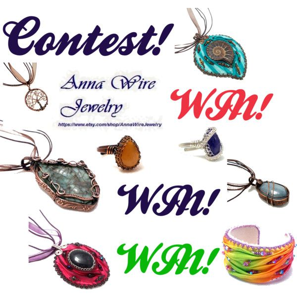Jewelry contest! by annawirejewelry on Polyvore