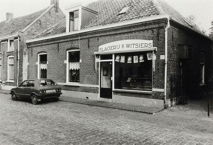 Oude slagerij Witsiers in Megen, Kloosterstraat