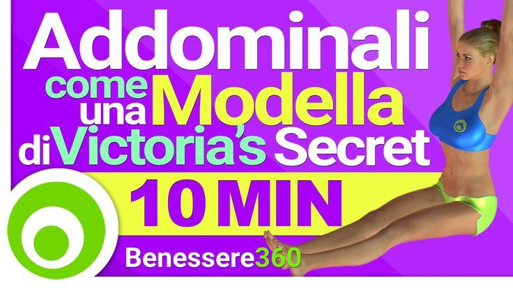 Addominali come una Modella di Victoria's Secret - Workout di 10 Minuti ...