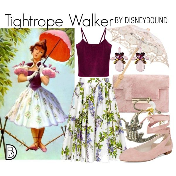 Disney Bound - Tightrope Walker (Haunted Mansion)