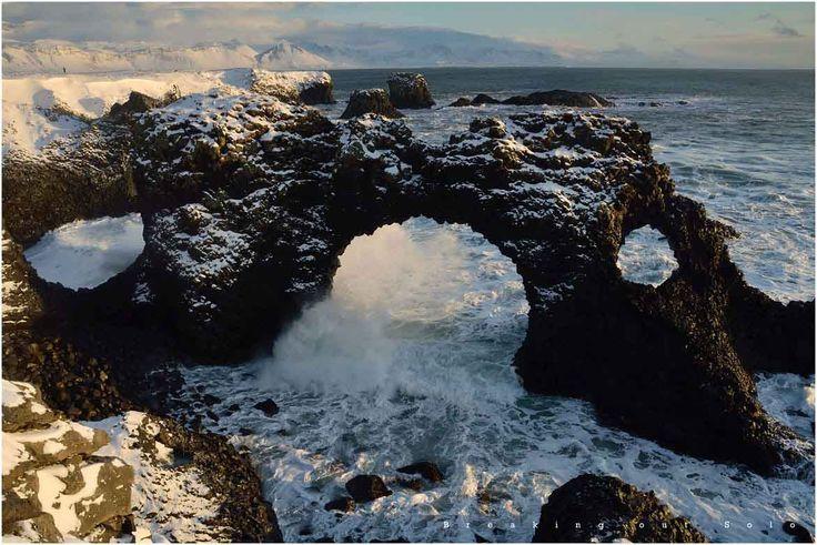 Amazing arches - Hellnar