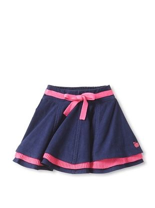 67% OFF Bonnie Baby Baby Corduroy Skirt (Navy)
