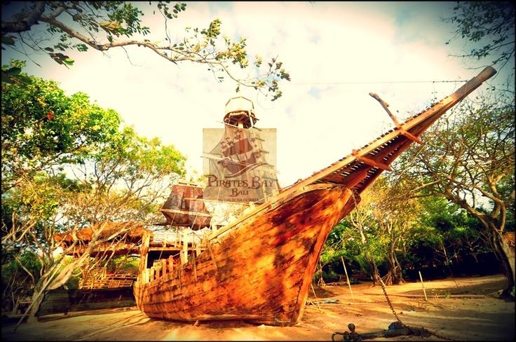 Pirates Ship  The Pirates Bay , Nusa Dua Bali. Indonesia