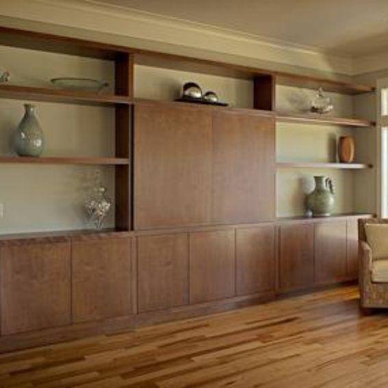 Custom Made Living Room Wall Unit