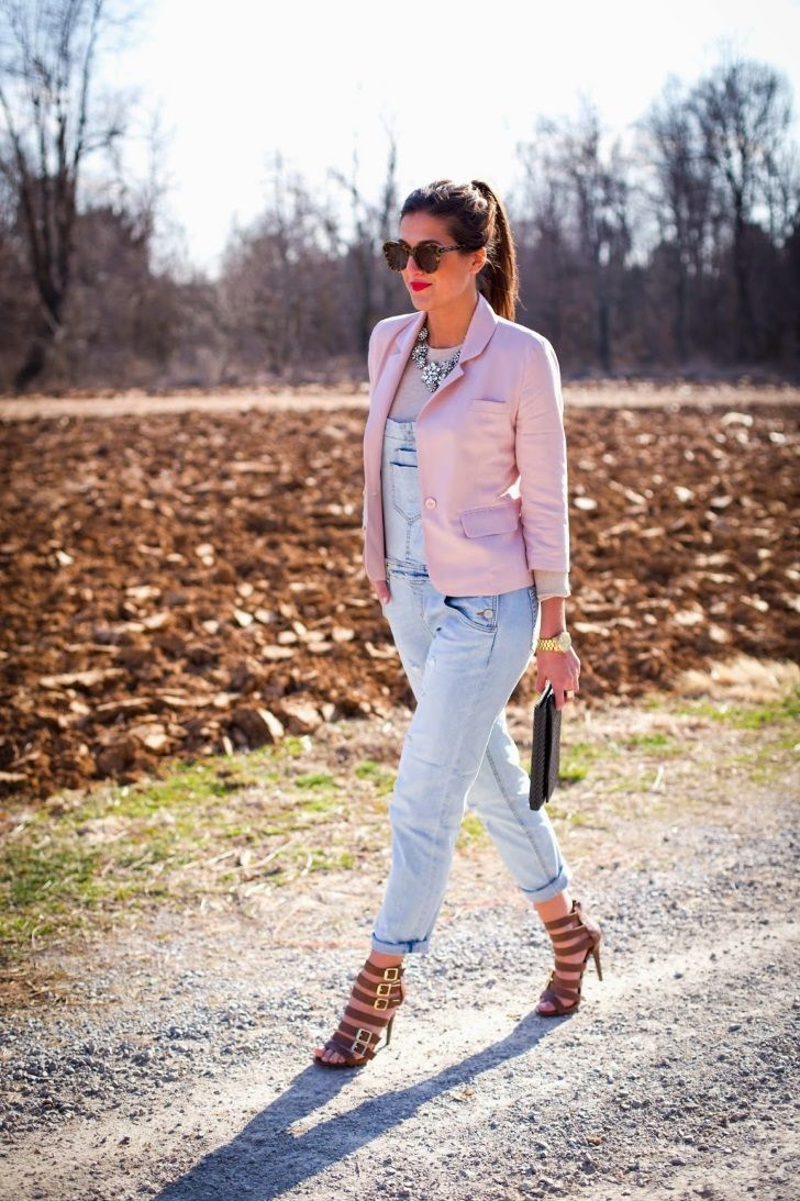 Southern ladies can make anything stylish paired with a little bit of charm. Traditionally used for farm work, overalls take a sassy spin when paired with the right pair of heels and accessories.