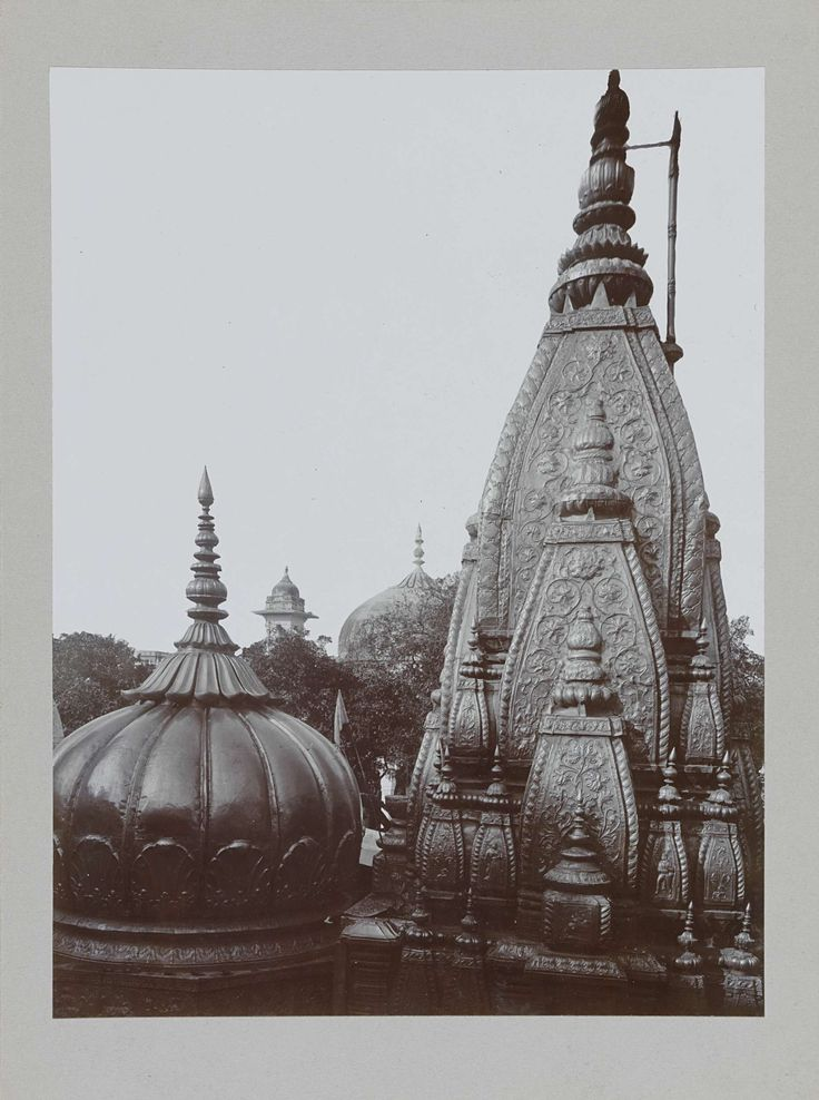 Anonymous | Gouden tempel in Benares, Anonymous, c. 1895 - c. 1915 |