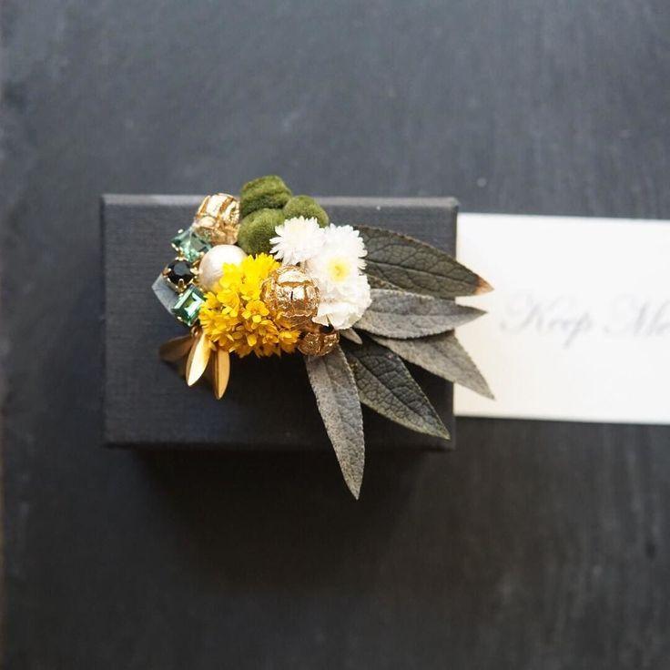 rétro botanical brooch 本日から企画スタート スワロフスキー クリエイトユアスタイル Creemaオリジナル新作特集 私はスワロフスキークリスタルと 植物をあわせてみました 天然の植物と 人工物のクリスタル マッチングが難しかったものの スワロフスキークリスタルの 輝きのお陰で植物だけよりも お洋服との相性は お洋服だけでなく 着物の帯留などにしても 良いかなと 秋冬のお呼ばれや プチギフトに お手にとっていただけたら 嬉しいです #flowerstagram #スワロフスキー #brooch #corsage #weddingflowers #帯留め #creema #weddingtrends #秋冬コーデ #アクセサリー #フォトウェディング #お呼ばれ #ボタニカル #ブローチ #両親贈呈品 #七五三 #結婚式 #ザ花部 #プレ花嫁 #日本中のプレ花嫁さんと繋がりたい #着物 #結婚式コーデ #花のある暮らし #wedding #プレゼント #bridalaccessories #ドライフラワー #全国のプレ花嫁さんと繋がりたい…