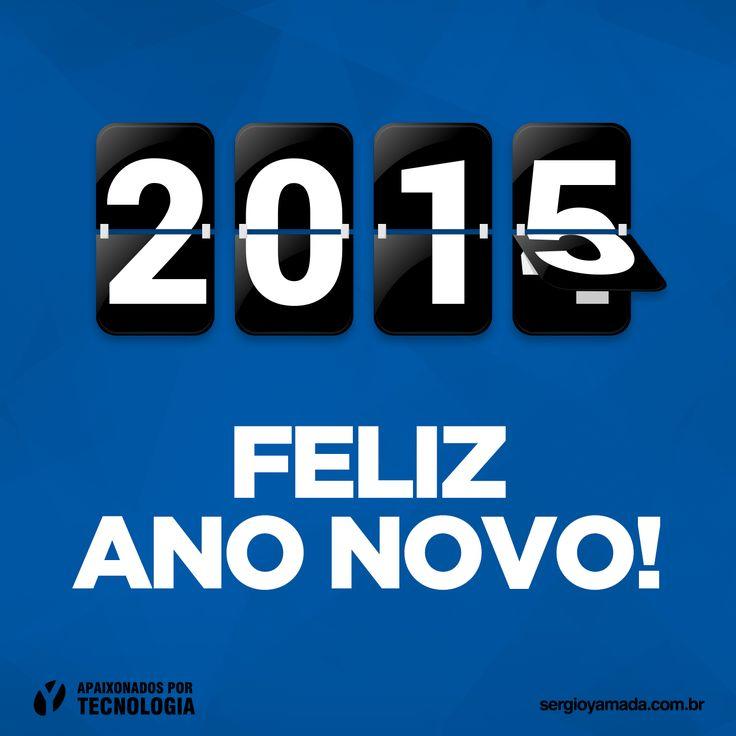 A equipe da Sergio Yamada deseja um FELIZ ANO NOVO a todos!  Que 2015 seja um ótimo ano, repleto de amor, harmonia, paz, alegria e prosperidade!