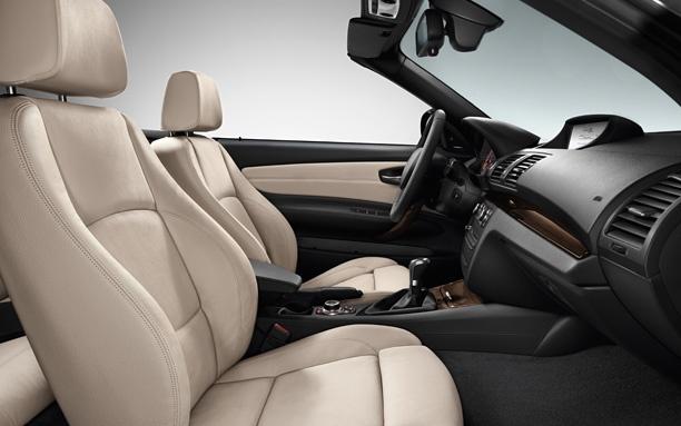 BMW 1 Series Cabriolet Interior