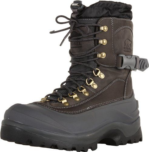 Sorel Men's Conquest Snow Boot,Boulder,9.5 M US - http://authenticboots.com/sorel-mens-conquest-snow-bootboulder9-5-m-us/