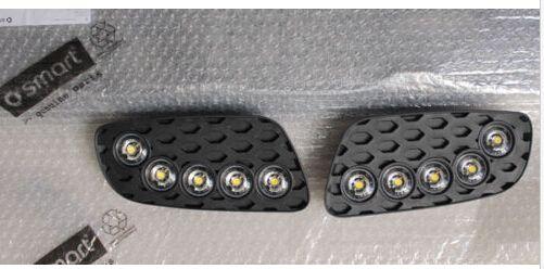 LED DRL daytime running light Lamps Fog light Cover Fit for Smart BRABUS 2013 #Affiliate