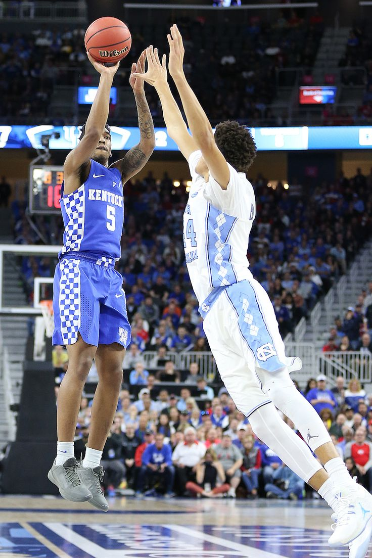 12-20-2016  Kentucky guard Malik Monk was named the USBWA's Oscar Robertson National Player of the Week and the Wayman Tisdale Freshman of the Week after scoring 47 points against North Carolina. (photo by Chet White, UK Athletics)