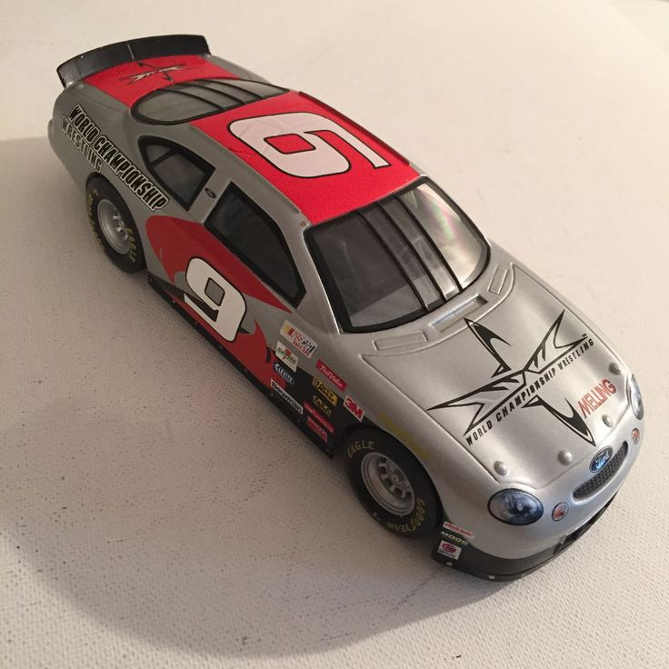 Nascar Jerry Nadeau 1:24 Team Car 1999 World Championship Wrestling 1 of 2,999 #RacingChampions