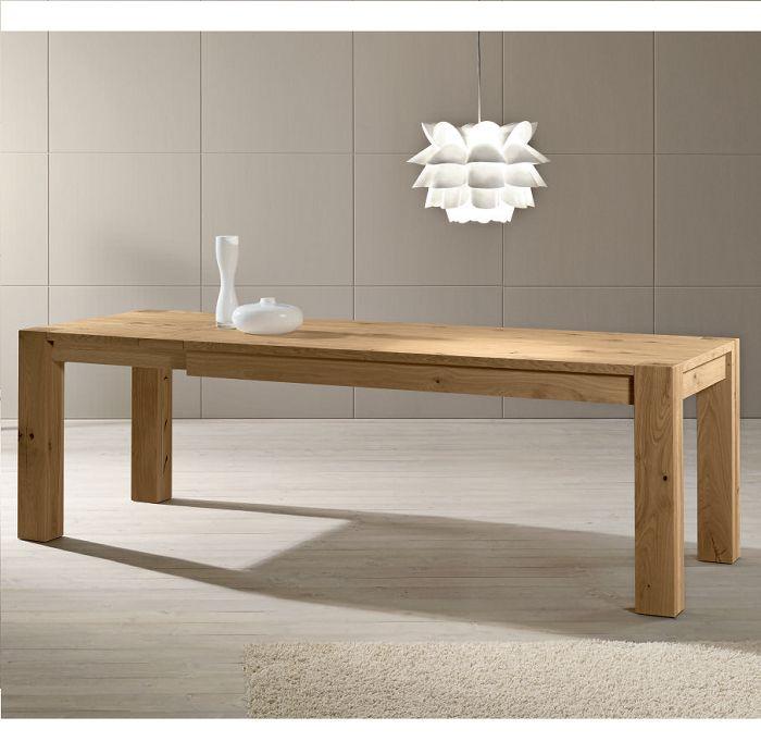 Bio Tavolo allungabile in legno massello acquistalo su www.italianarredo.it