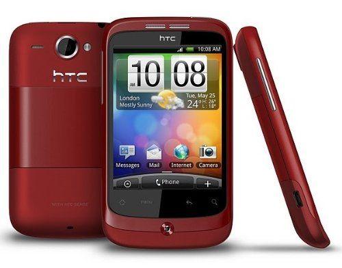 HTC Wildfire Sim Free Mobile Phone (Red) - http://www.computerlaptoprepairsyork.co.uk/mobile-phones/htc-wildfire-sim-free-mobile-phone-red