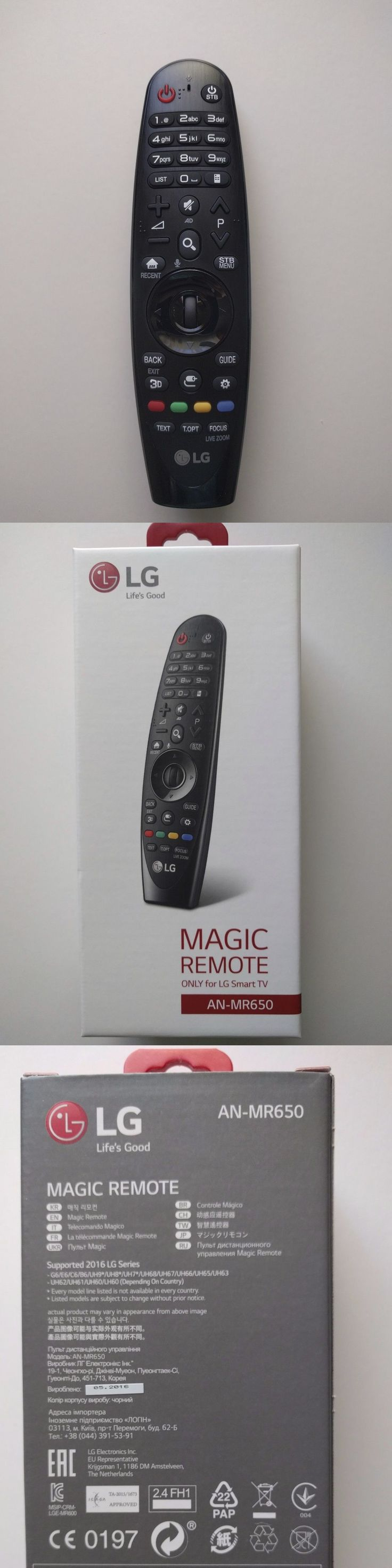 Remote Controls: Brand New Lg An-Mr650 Magic Remote Control For 2016 Lg Tvs Anmr650 -> BUY IT NOW ONLY: $40 on eBay!