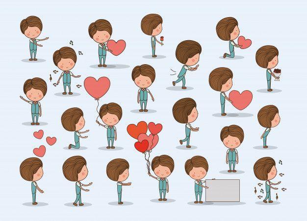 Download Cute Boy In Love Set For Free Chicos Enamorados Chicas Lindas Chico