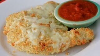 Baked Chicken Parmesan Tenders YIELD: 4 SERVINGS PREP TIME: 15 MINUTES COOK