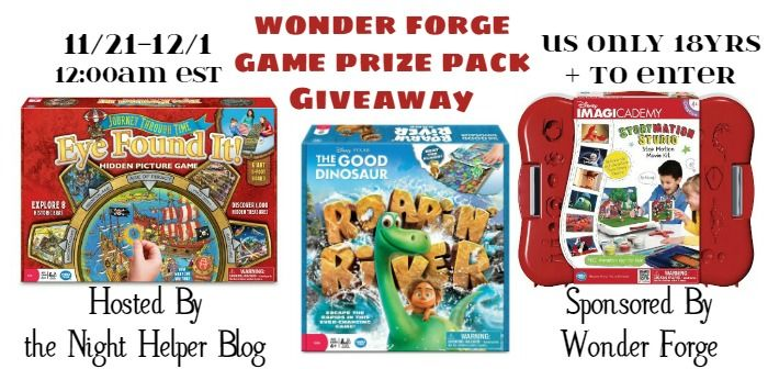 Enter to Win a Wonder Forge Game Prize Pack (arv $65) - Night Helper