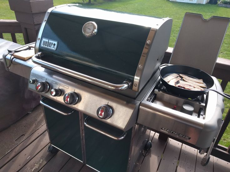 been searching for a used weber gas grill all summer finally found one