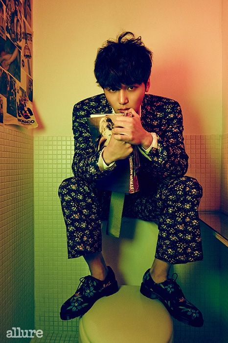 Byun Yo Han in Allure Korea February 2015. Photographed by Mok Jung Wook