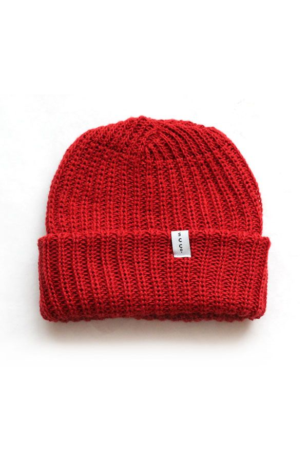 Knit Watchcap - Made in the USA knit winter wool hat  cd1488c44