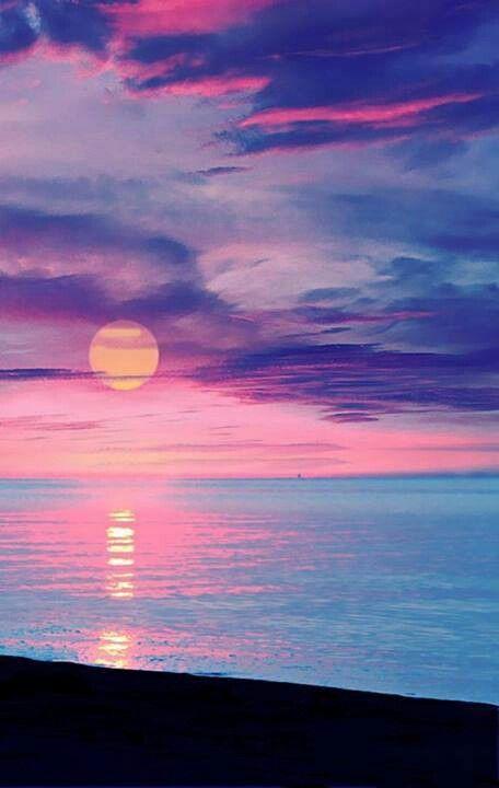 Beautiful Sunset♡   Amazing Acrylics   Pinterest