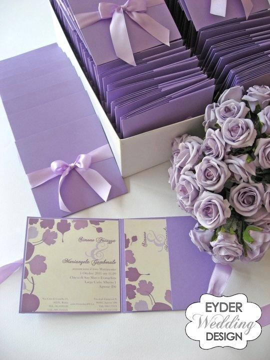 partecipazioni lilla  www.tuscanyeventstyle.com  info@teseventi.com #wedding #italy #tuscany #tes