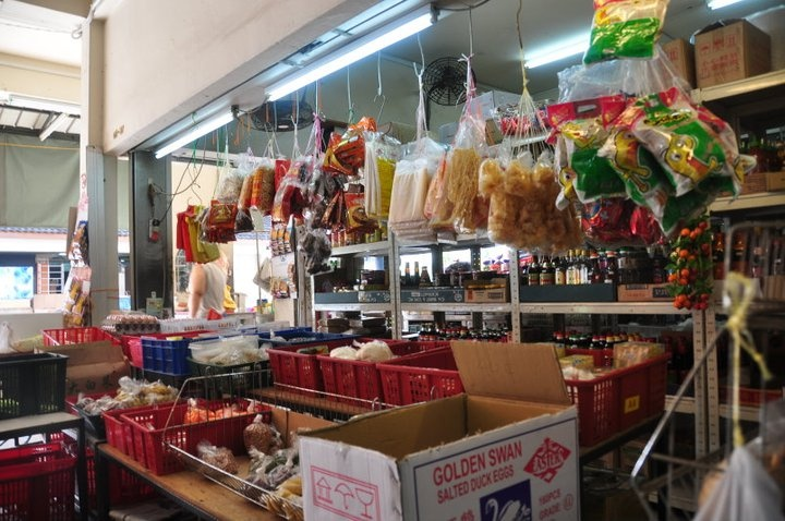 A provision shop in REAL Singapore. You won't see this on a glossy Singapore Tourist Promotion Board campaign.