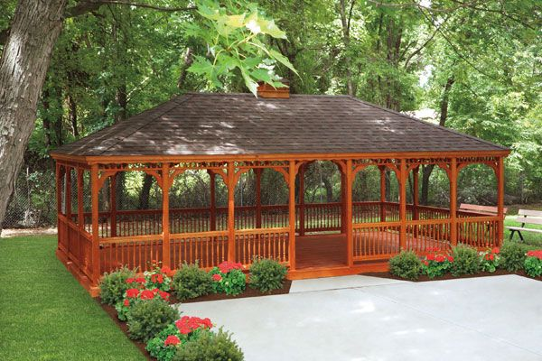 Patio Gazebos | Garden Gazebos | Amish Gazebos | Country Lane