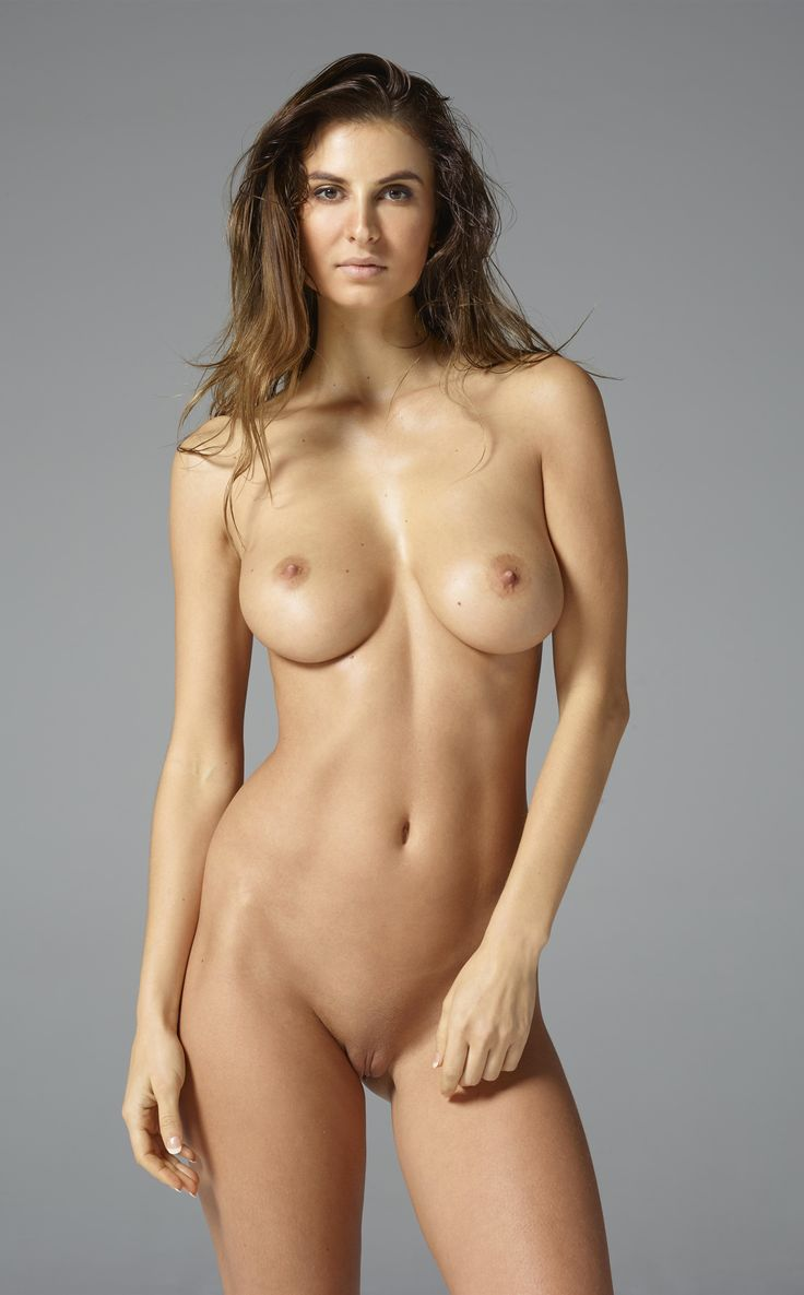 Female modeling nudist